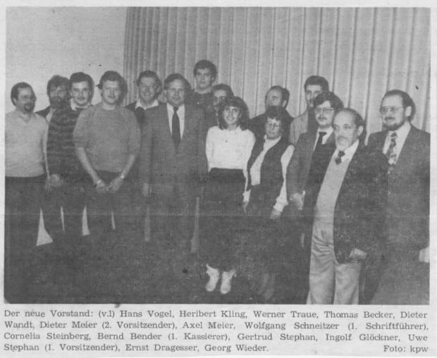 Vorstand 1983